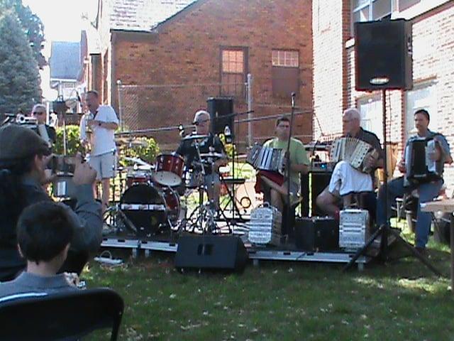 Bobby Zagozda and company in Omaha, NE at Our Lady of Lourds Fall Festival