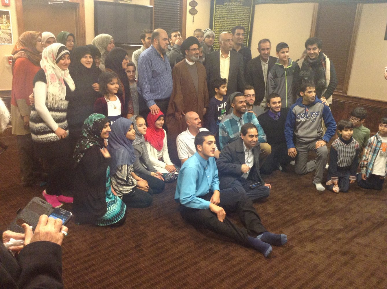 Sponsor of lecture event by Imam Qazwini at Indy Zainabia