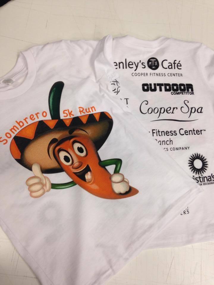 Marathon T-Shirt Print