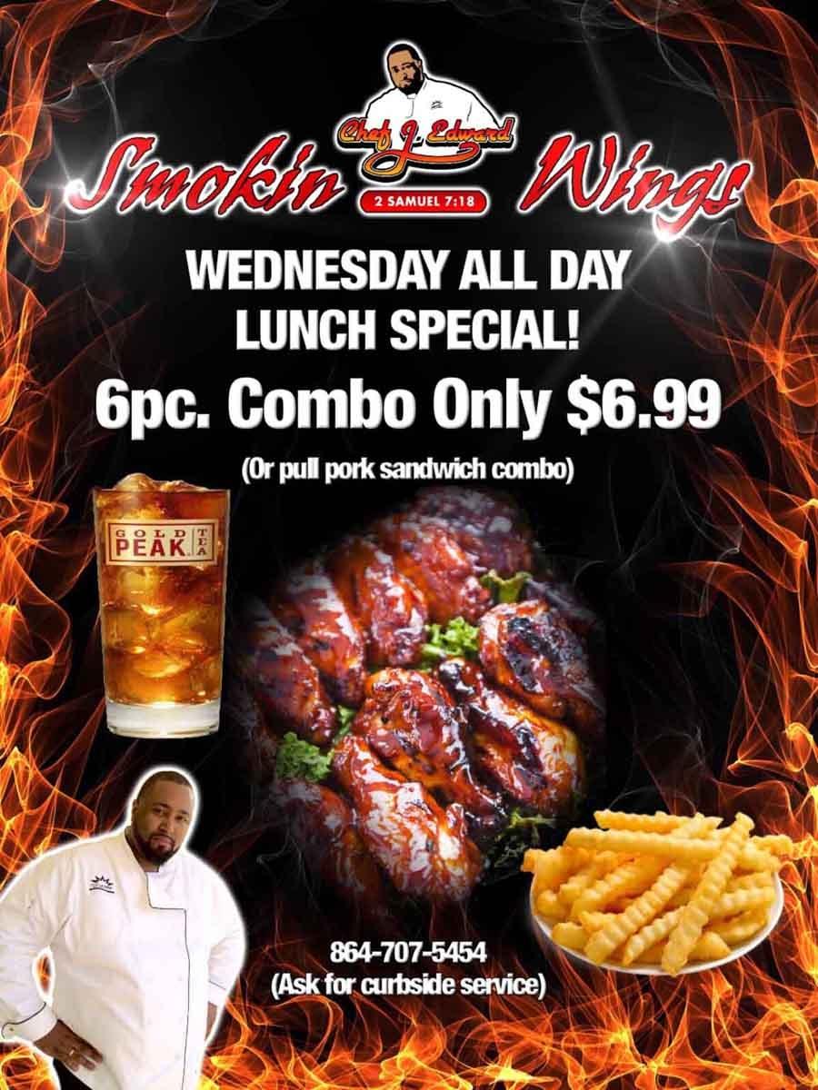 Restaurant Wednesday Night Special