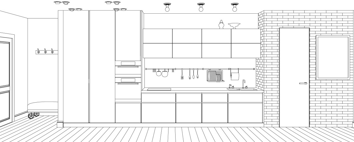 Kitchen Line Interior