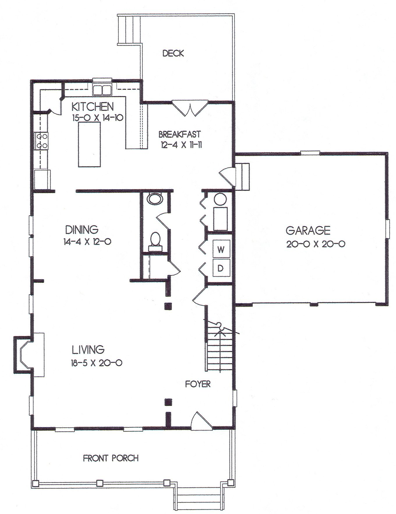 24-42 first floor plan