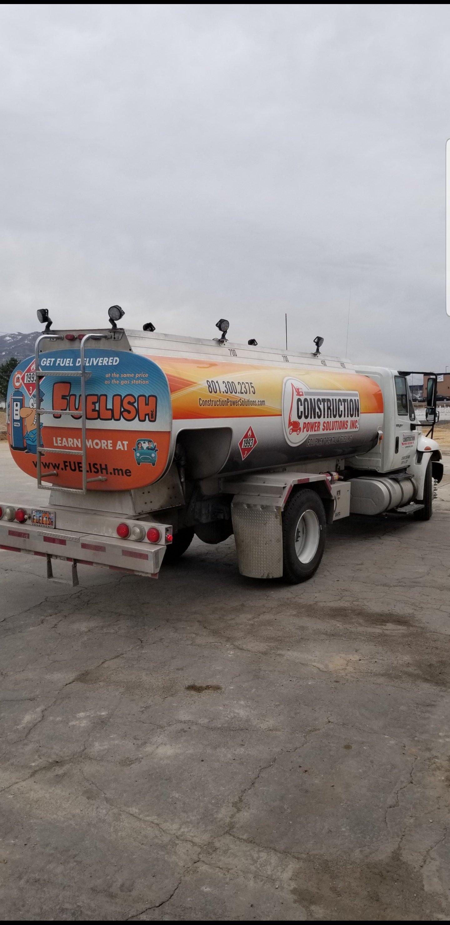 Fuel Tanker Truck 2