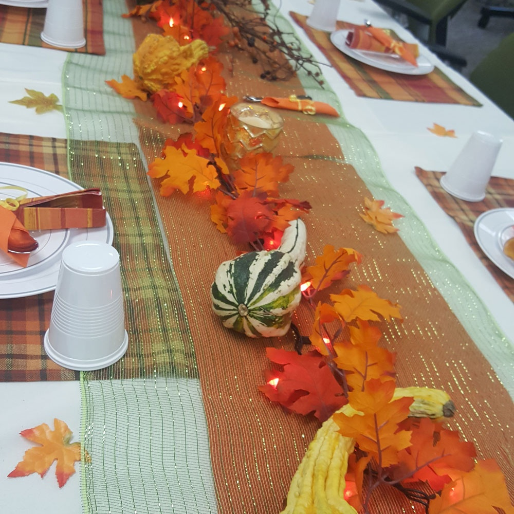 Fall Inspired Table Setting