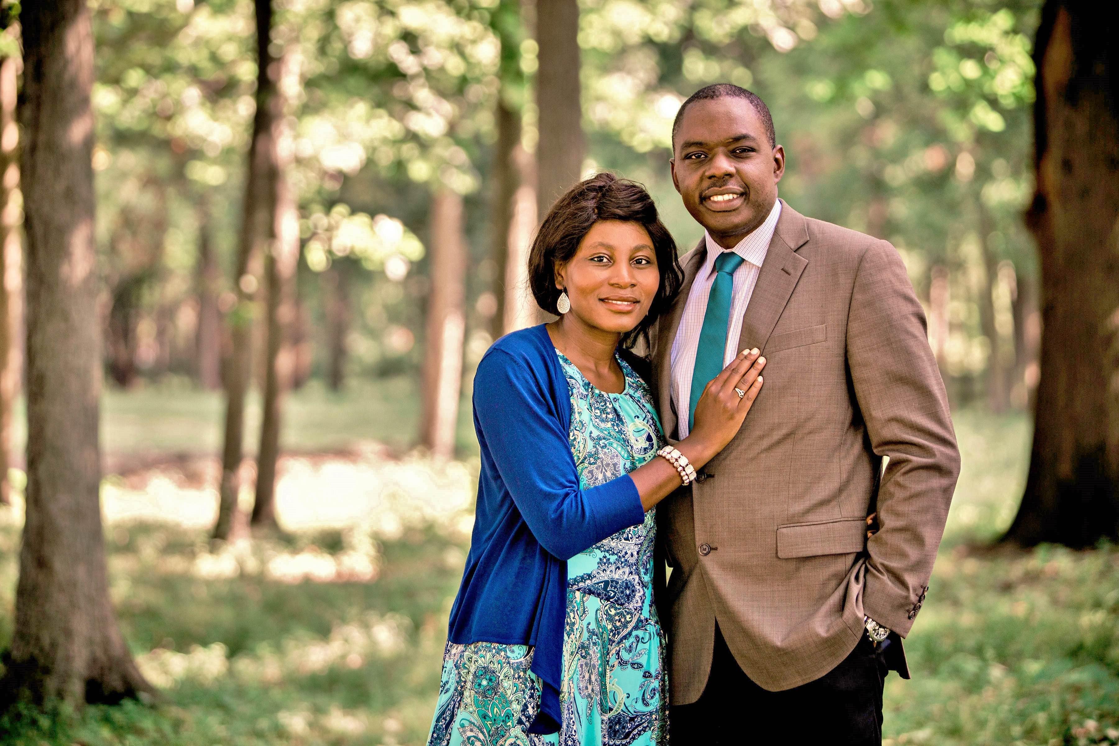 Patrick and Christelle Ndjaboue