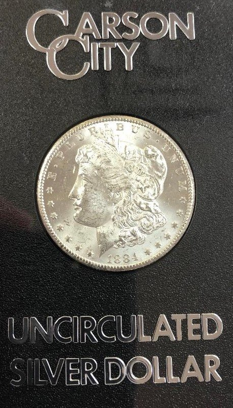 1884 CC Morgan Dollar $250
