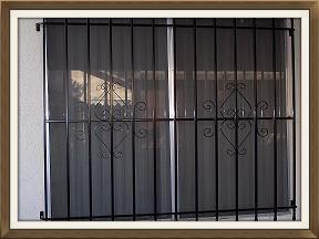Standard Window Guard Design