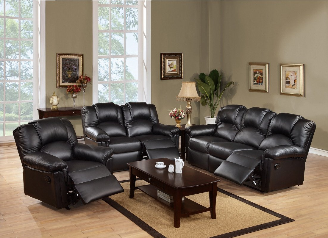(F6677) Updated Living Room Set Budget Friendly Option Available in 3 colors