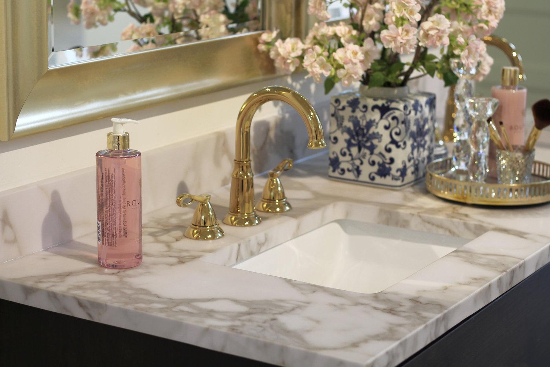 Luxury and stylish master bathroom
