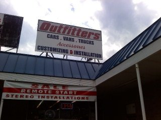 vehicle outfitters signage