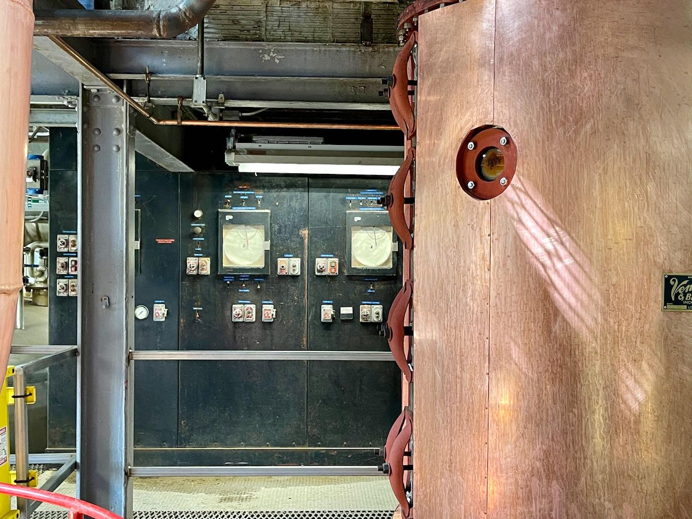Original Distillery Control Panel - Green River Distilling Co