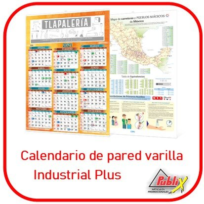 Calendario Varilla Industrial Plus