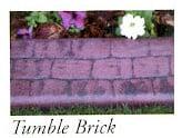 Tumble Brick stamp