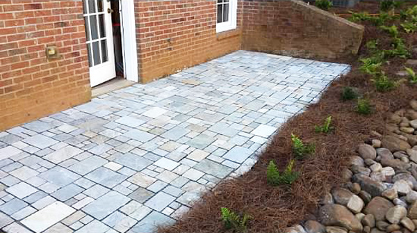 Paver Patio near Alpharetta