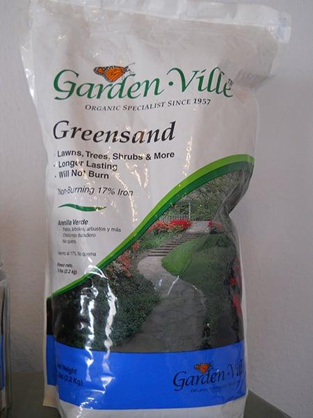 Gardenville green sand