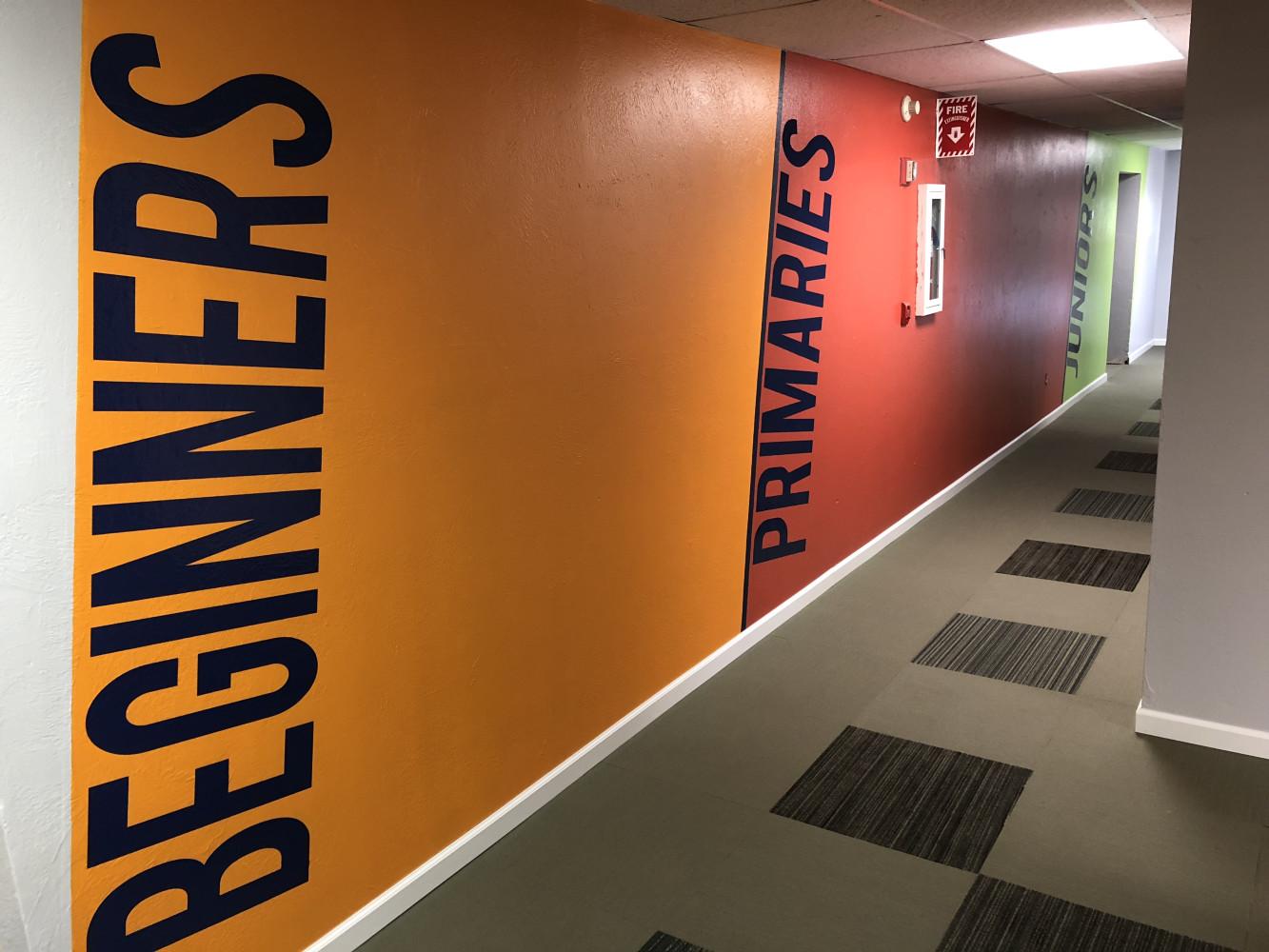 Kid's Ministry Hallway