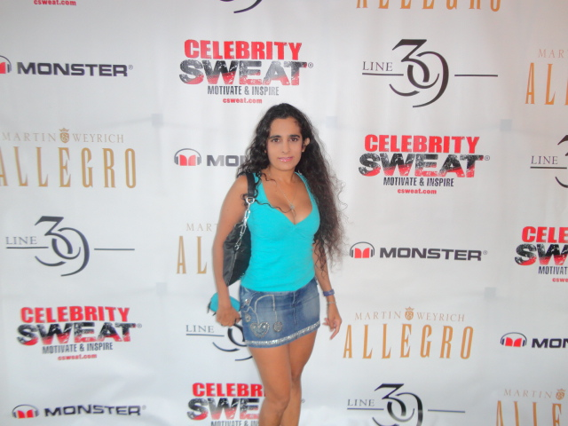 Sanjini at Celebrity Sweat