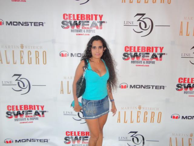 Sanjini at Celebrity Sweat