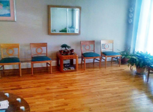 Counseling Office Waiting Area