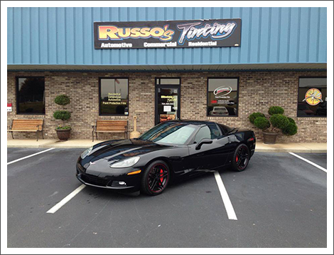 Image of tinted 2006 corvette||||