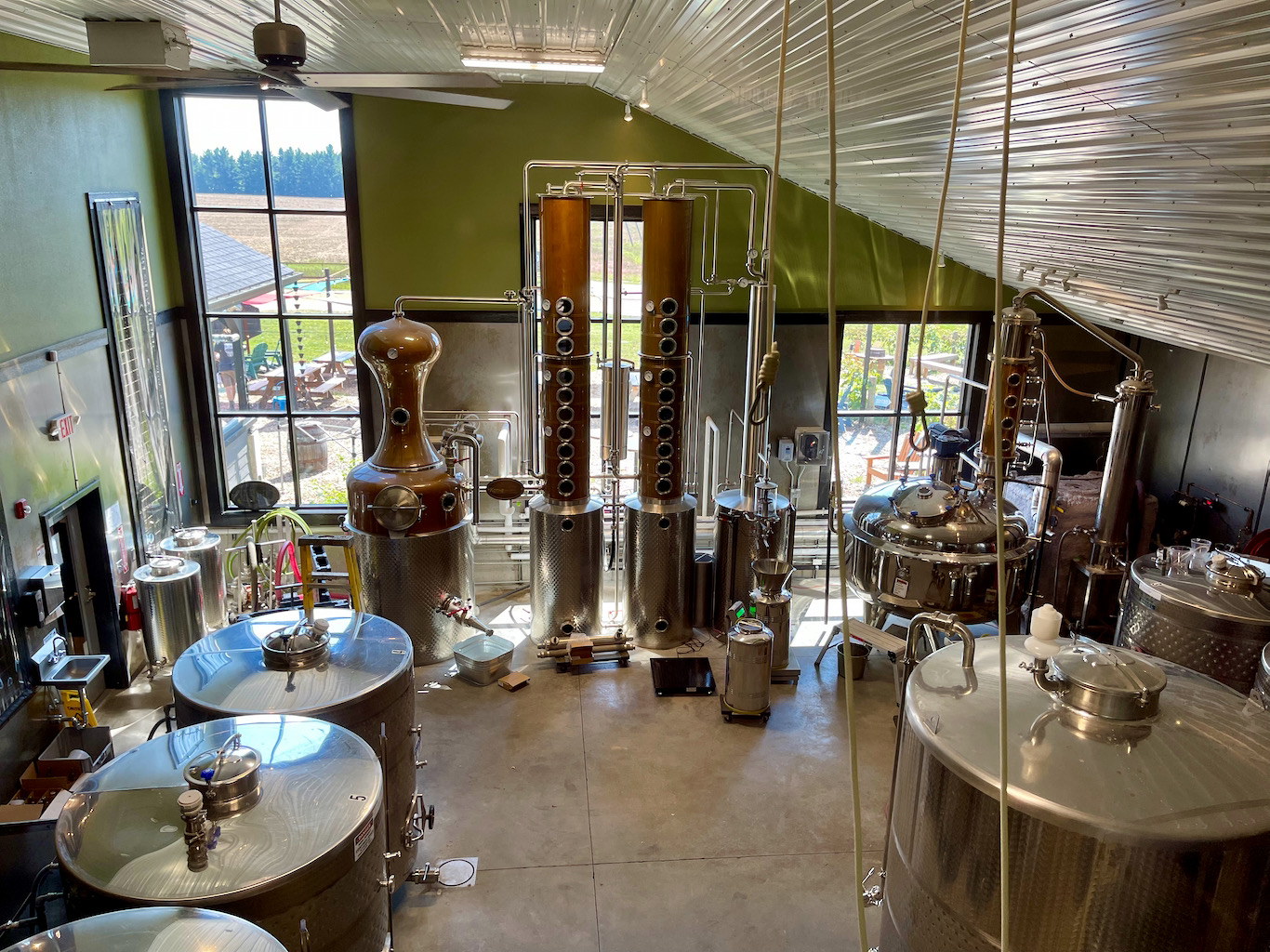 The Distillery - Iron Fish Distillery Review Tour