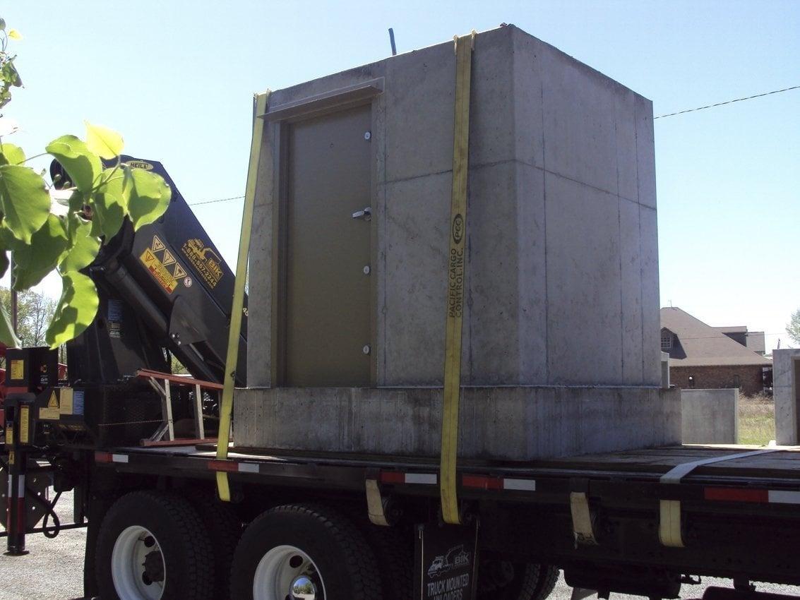 Anti-Tilt Safe Room on Truck