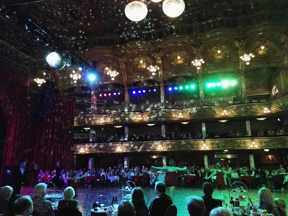 Blackpool Tower 125th birthday party in the Tower Ballroom