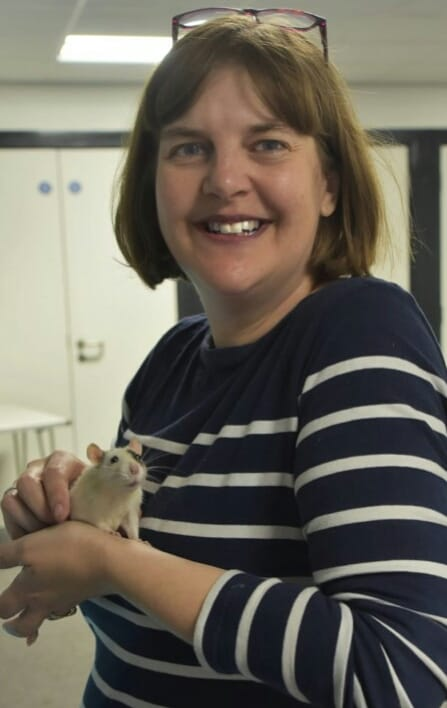 Susan and Moana the rat