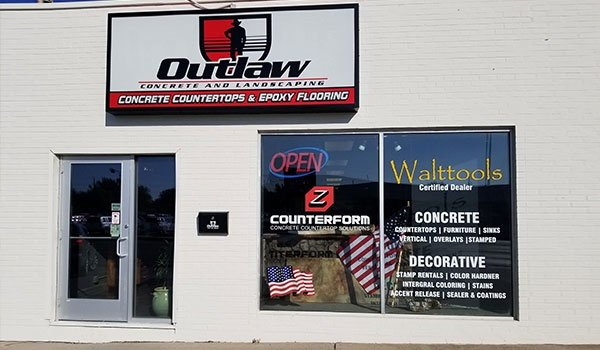 Outlaw Concrete Store Front