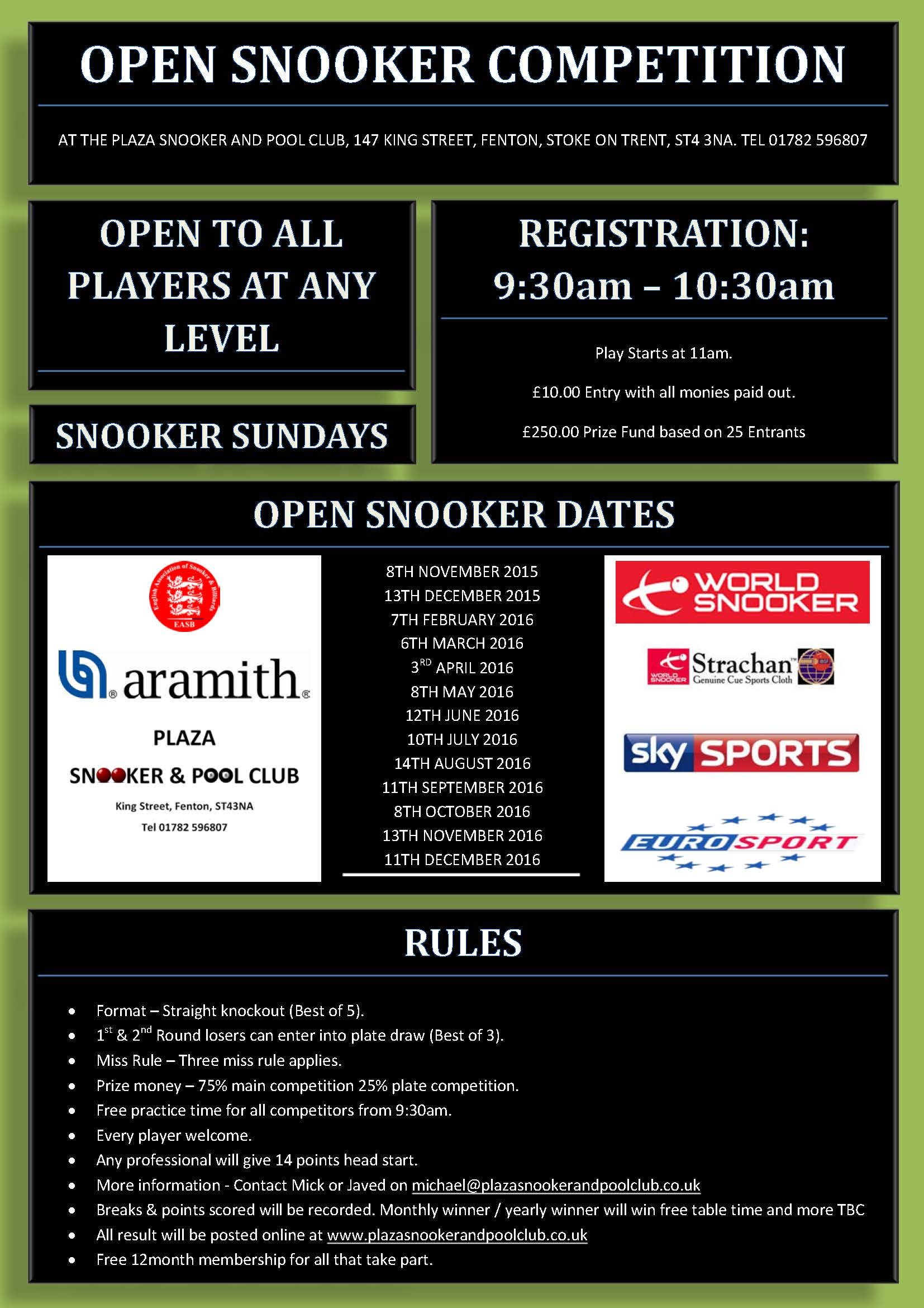 Snooker Open