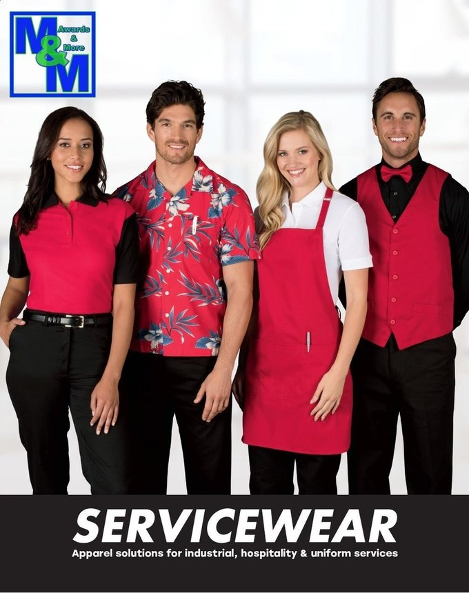 Service or Work Wear Click for Catalog