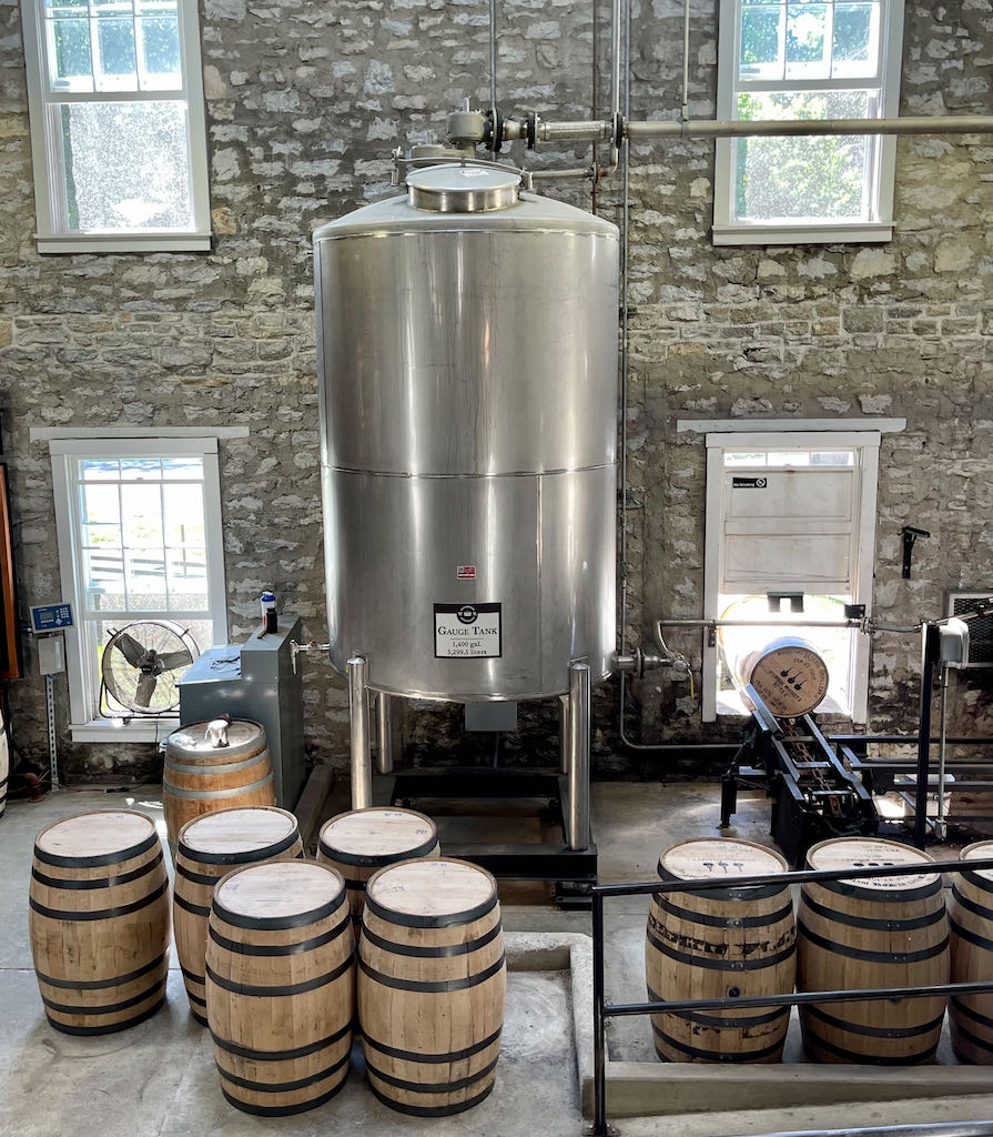 Spirit Tank - Woodford Reserve Distillery