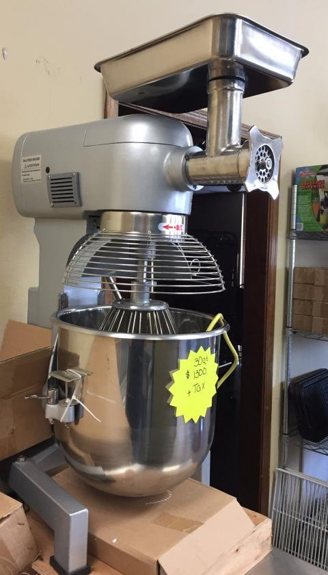Hebvest 30Qt Mixer Model # SM30HD $ 1390.00