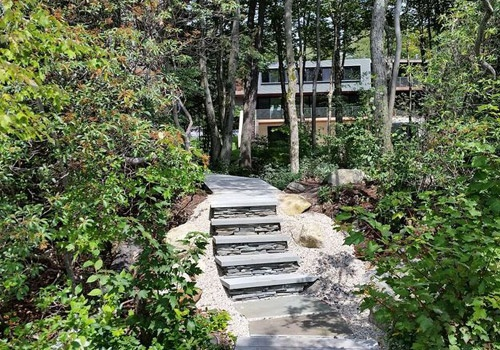 New Garden Walkway