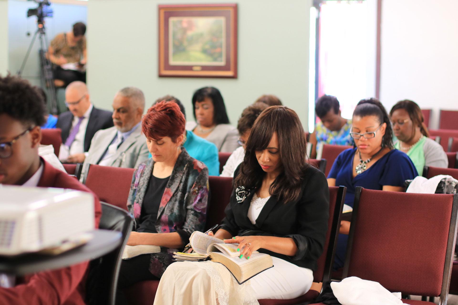 Snapshot of a Bible Study