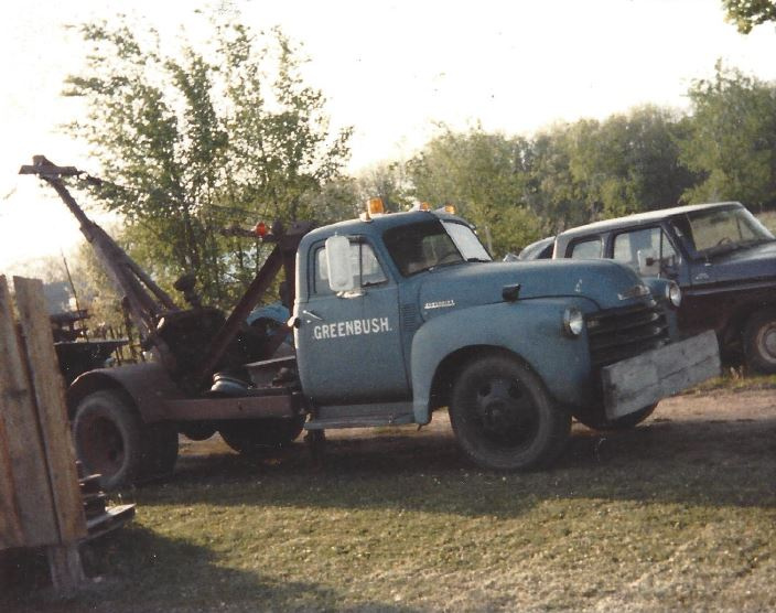 Scrap Removal Truck
