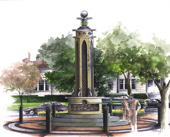 Legacy of Love Monument at The Oak Lawn Triangle
