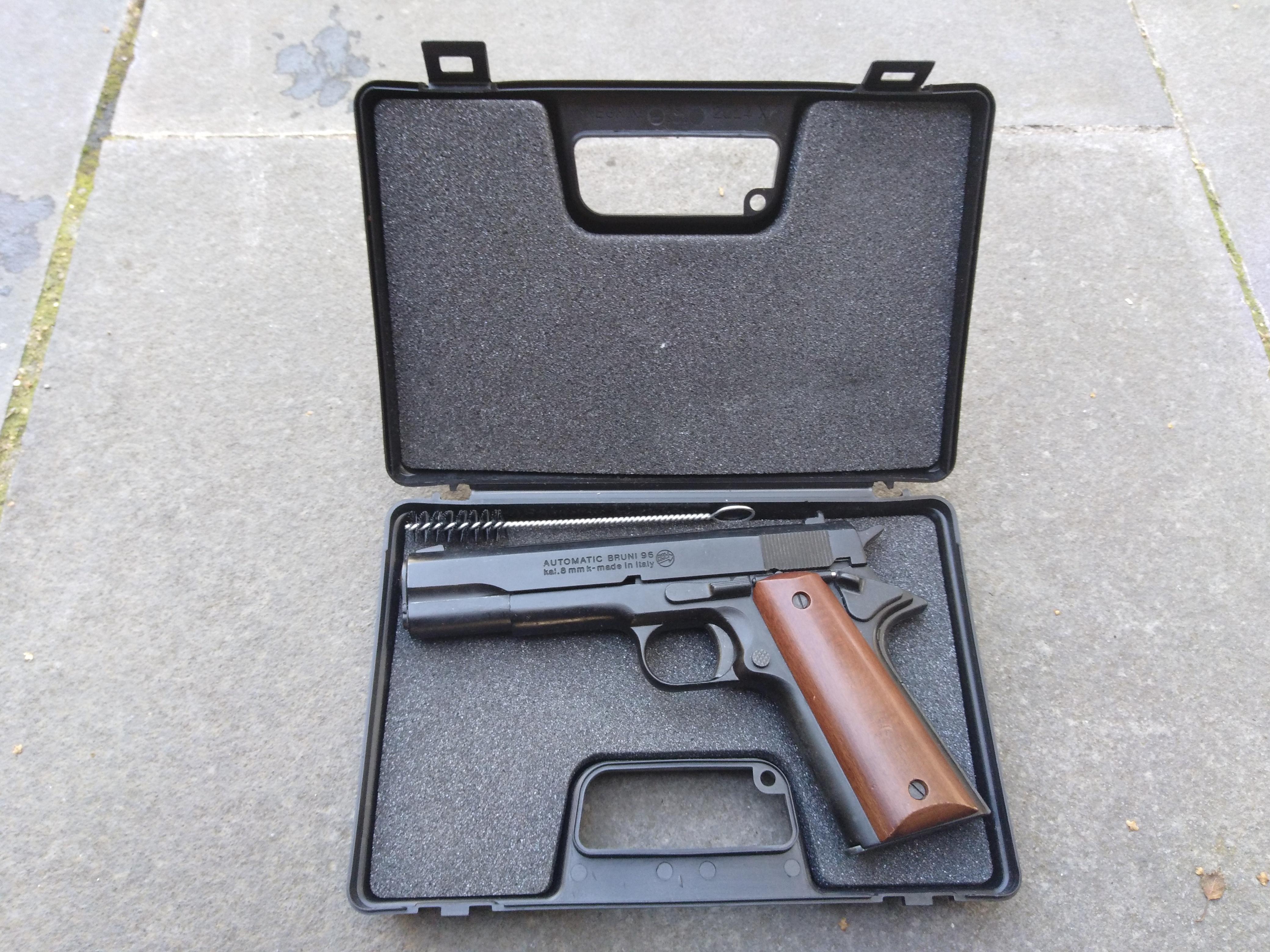 PFCGUK Ltd - Bruni 96 Colt 1911 8mm blank