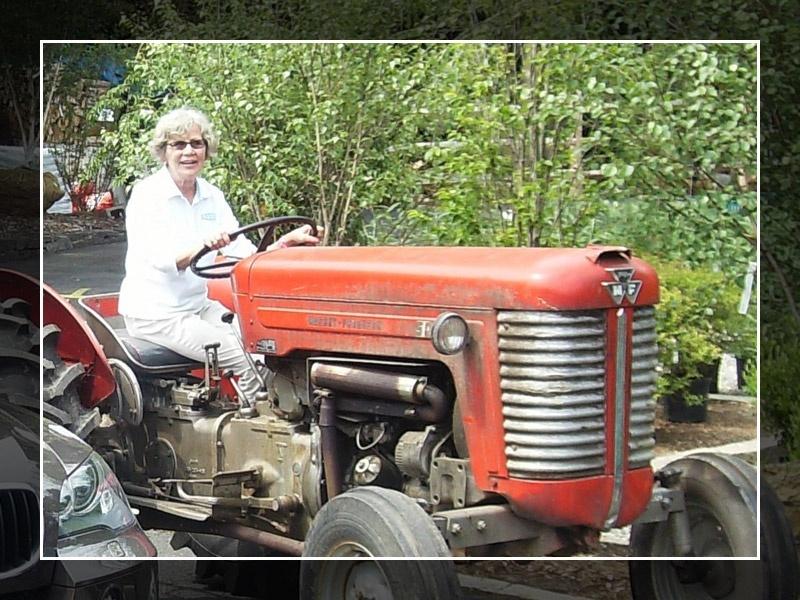 Liisa on Tractor