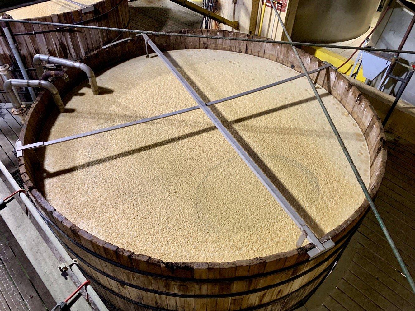 Four Roses Distillery Cyprus Fermenter