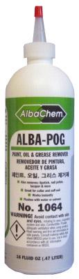 ALBA-POG Removedor de Pintura Tamaños: Botella de 16 oz.           1 galón.
