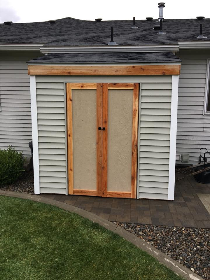 Finished Shed