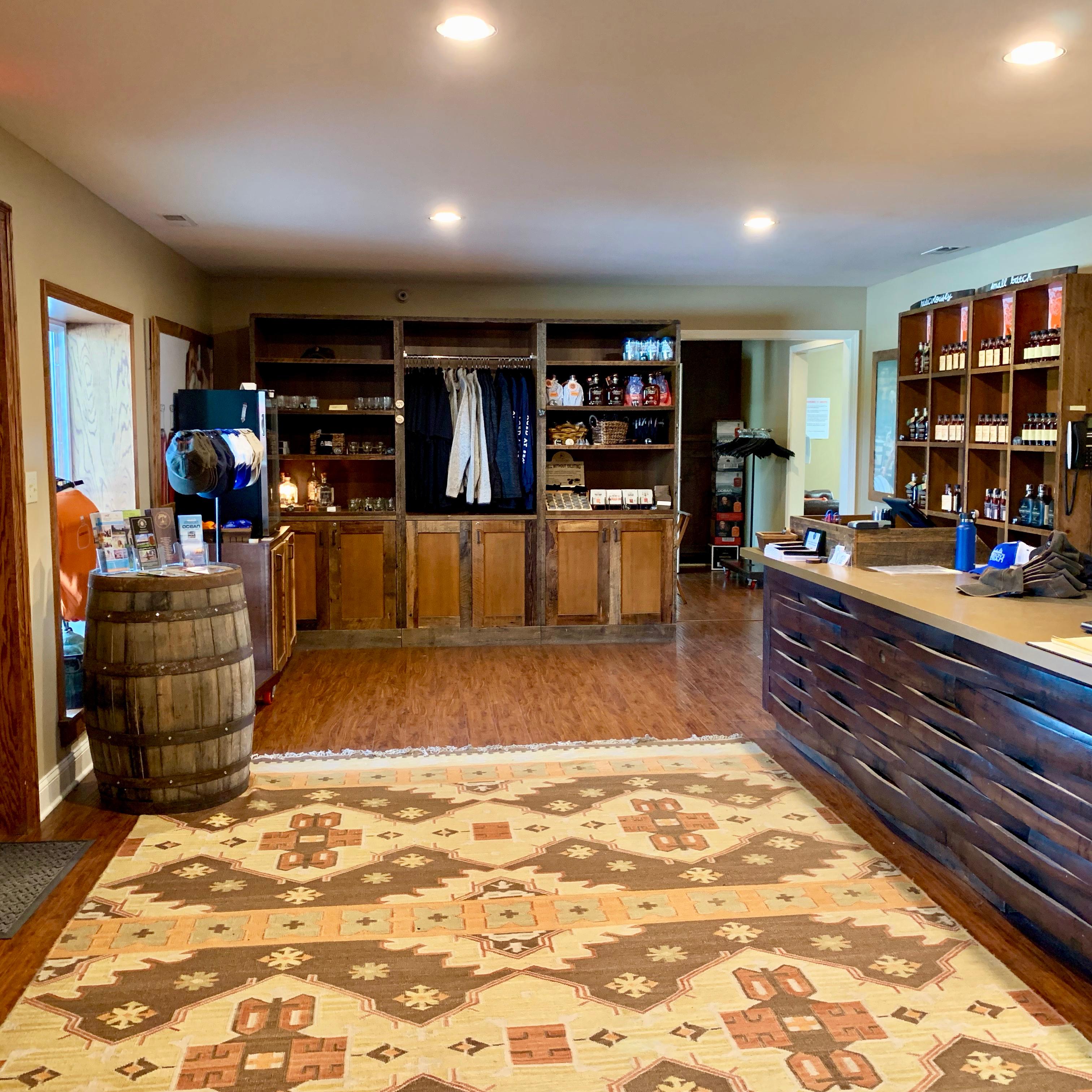 Visitor Center - Gift Shop - Kentucky Artisan Distillery