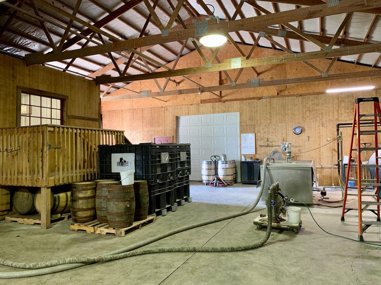 MB Roland Distillery Mashtun & Fermenter