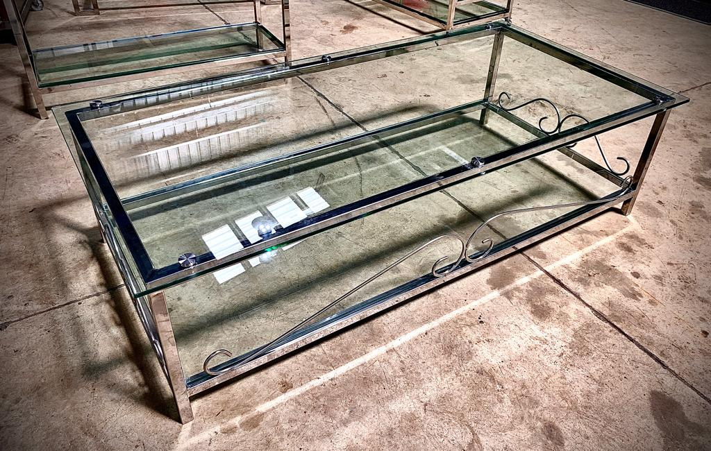 Fabricacion de hermosas mesas decorativas.