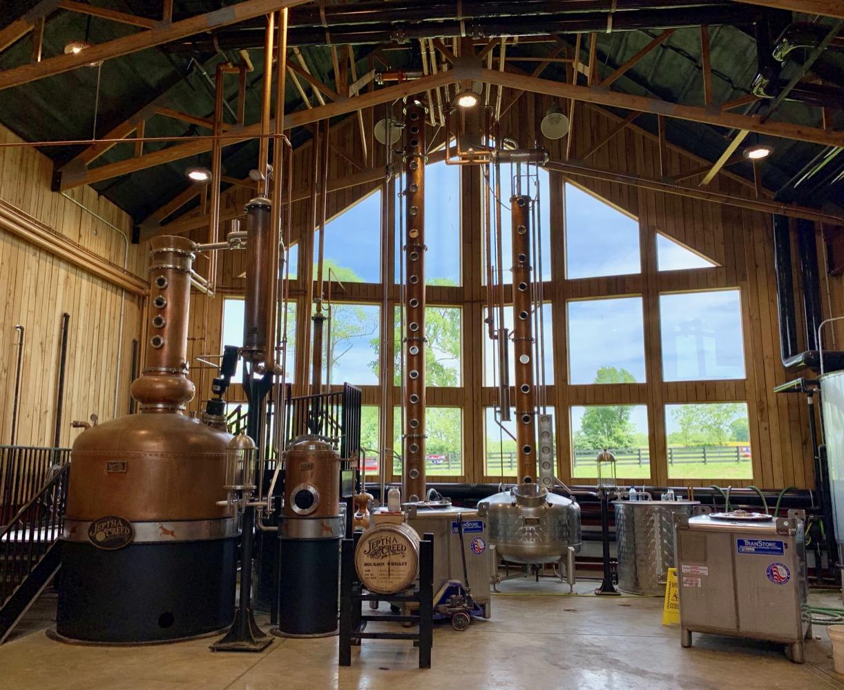 Jeptha Creed Distillery Stills