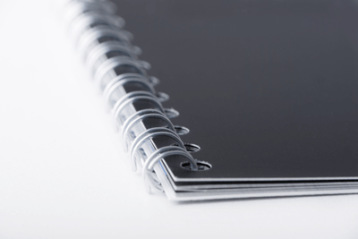 A Black Ring Binder