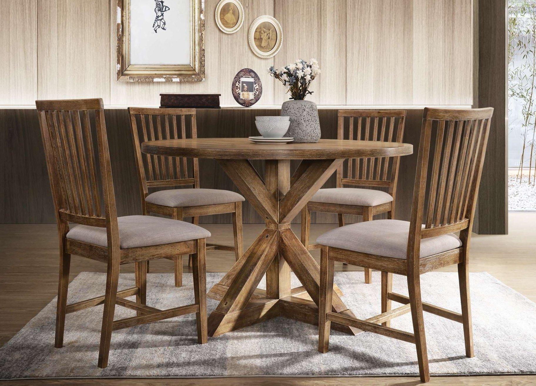 DIN 73210 Oak Dining Set