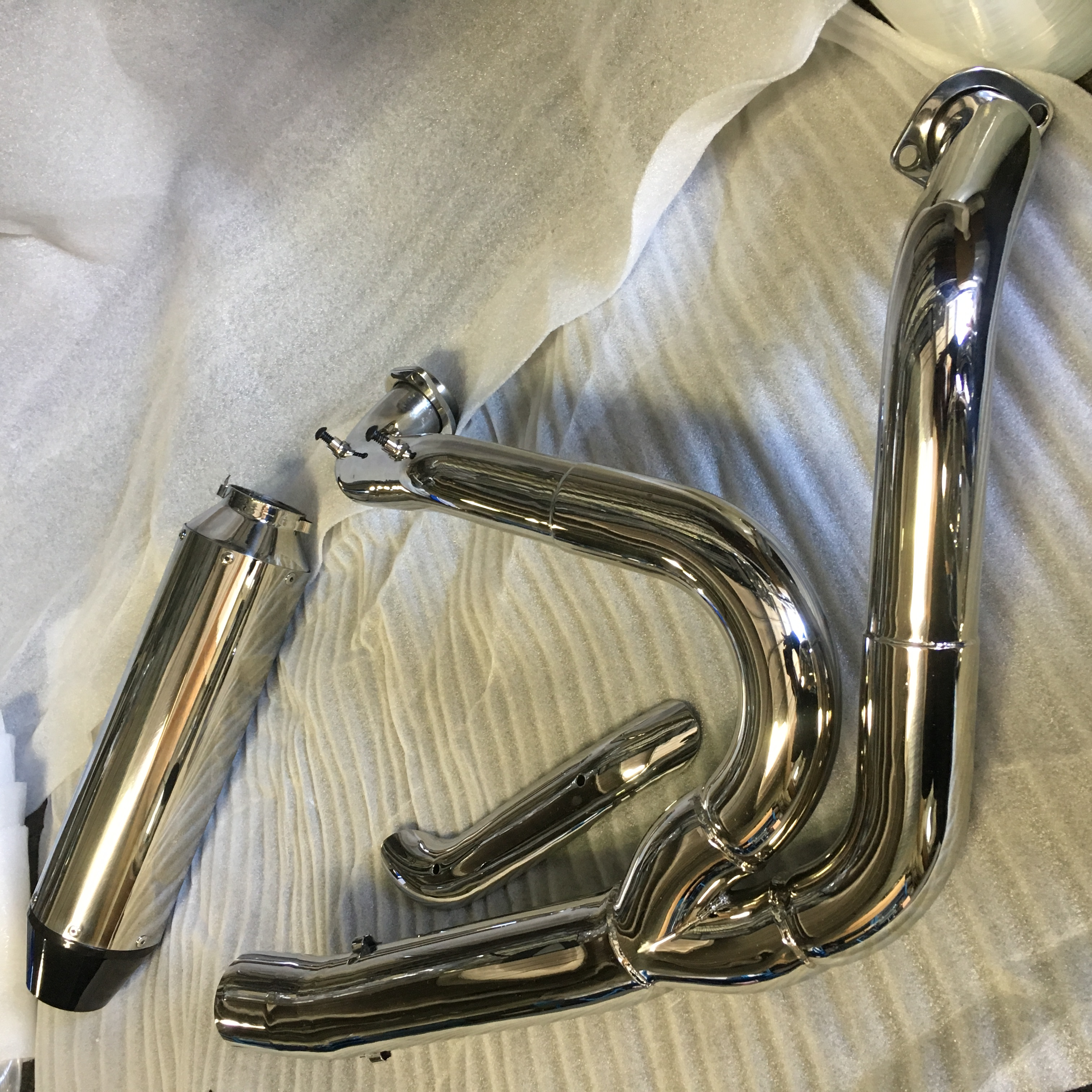 Polish Stainless Steel Exhaust