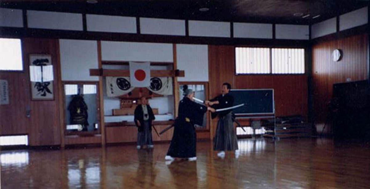 Teacher: Nakamura Taizaburo Sensei. Uchitachi: Sato Shimeo Sensei. Shitachi: Suzuki Kunio Sensei.
